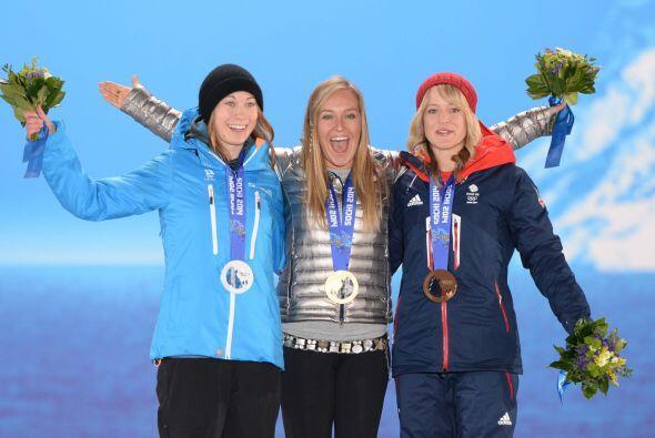 Con 23 años se ha convertido en la primera campeona olímpica de la nueva...