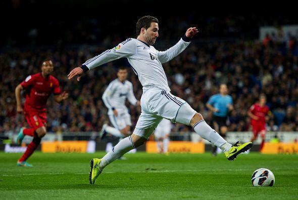 El Madrid siguió presionando.