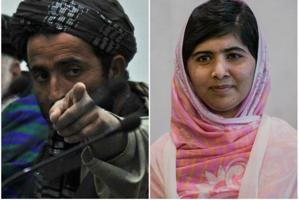 Un día después de que la adolescente paquistaní Malala -a quien el talib...