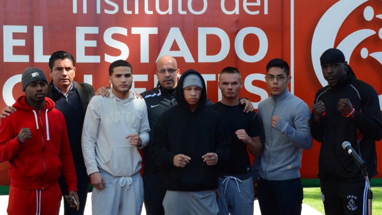 Boxeadores de la cartelera de Aguascalientes