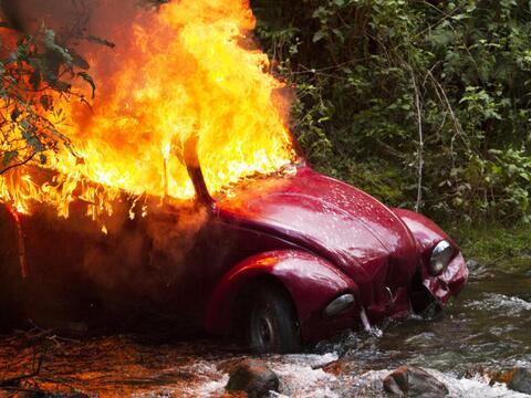 Así se grabó el accidente de Yolanda, Zulima y John en 'La...