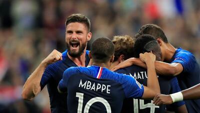 En fotos: Francia le propinó nueva derrota a Alemania y lo descendió en la Nations League