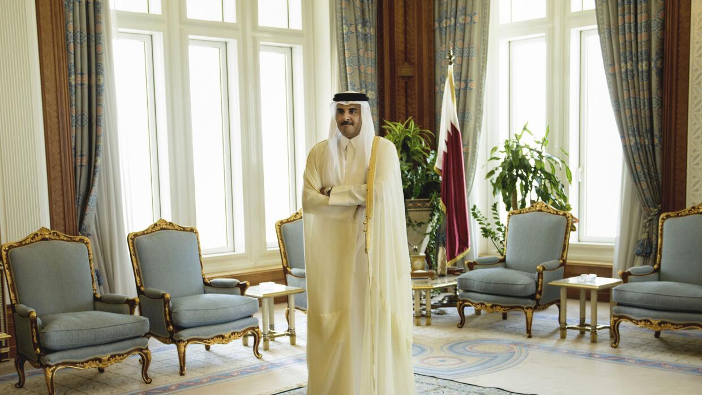 Sheik Tamim bin Hamad Al-Thani, emir de Qatar