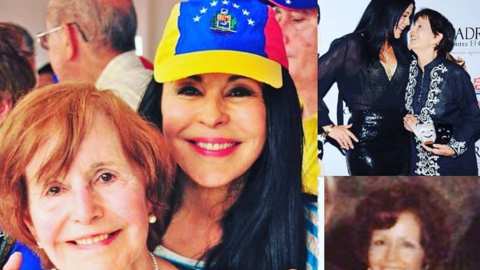 Muere la madre de María Conchita Alonso