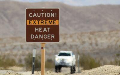 Residentes del sur de California continúan bajo el embate de una...
