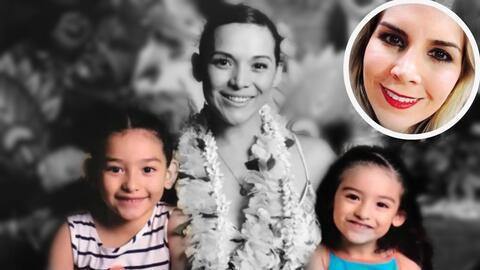 Karla Luna, sus hijas y Karla Panini