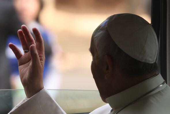 El papa Bergoglio recordó que este viernes la Iglesia festeja a San Joaq...