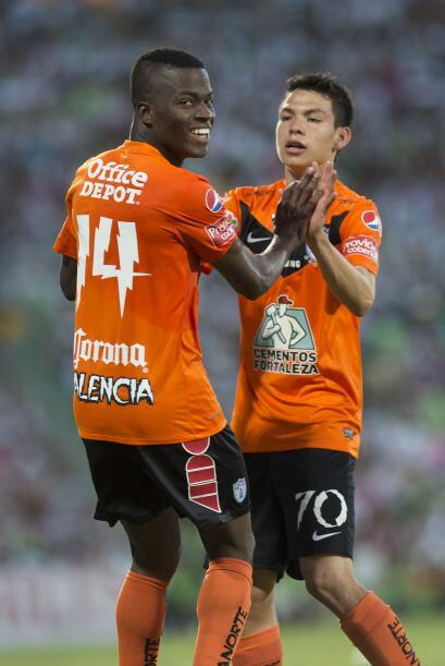 Rodrigo Lozano (7): Procuro siempre estar cerca de los delanteros de su...