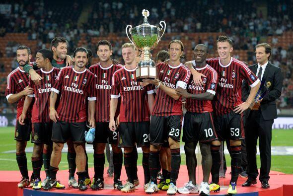 Los 'rossoneri' dieron el primer paso al volver a levantar el título de...