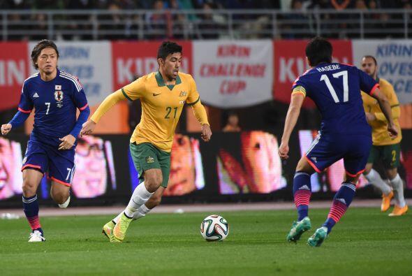 El equipo de Javier Aguirre, Japón, empieza a tomar forma y ahora se imp...