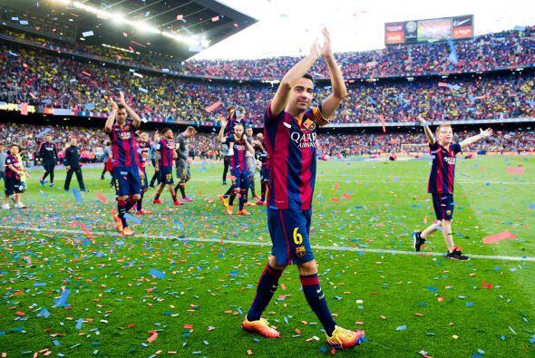 En Barcelona hubo motivo para un festejo doble pues además del título, l...