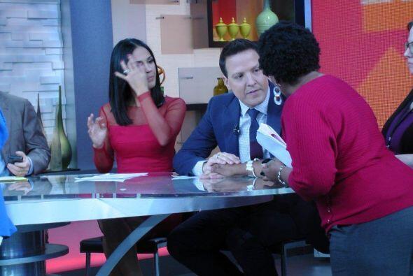 Desde temprano, Karla y Raúl se prepararon para hacer historia en Nueva...