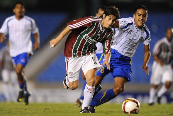 El mejor jugador de Fluminense y del torneo resultó ser el volant...