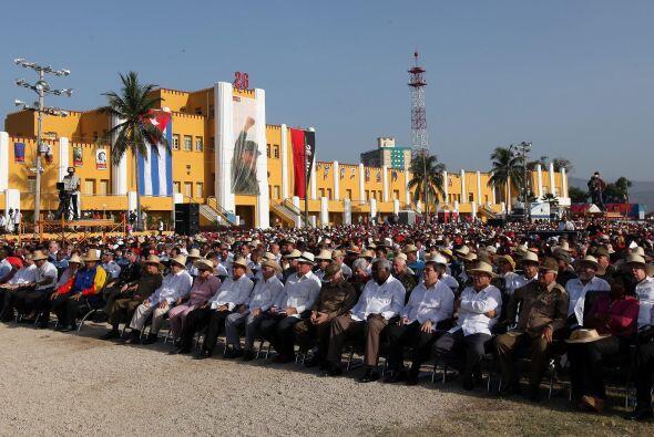 Cuba celebró el viernes el 60 aniversario del inicio de su revolu...