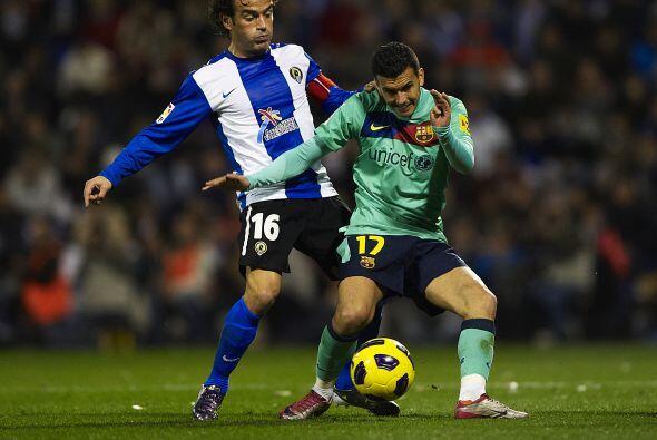Pedro jugó a un excelente nivel, sigue encontrado con el gol y se...