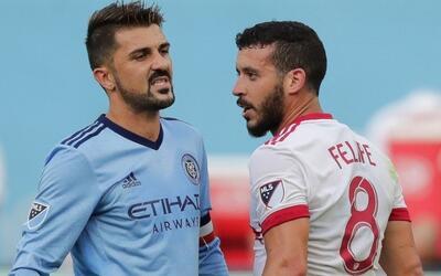Felipe no ve la hora de enfrentar a New York City FC en los Playoffs.