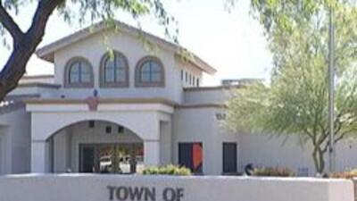 Las oficinas de la ciudad de Guadalupe