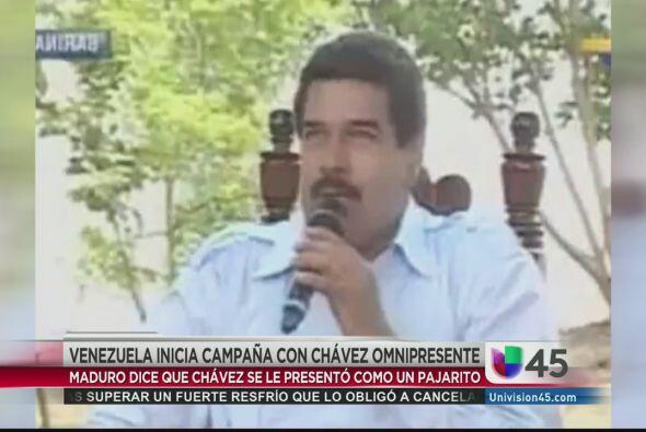 En noticias extrañas, el presidente de Venezuela Nicolás Maduro aseguró...