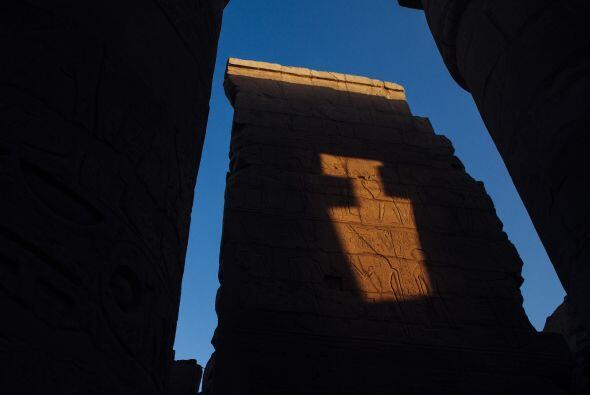 El templo central de Karnak, el Templo de Amon, es el edificio religioso...