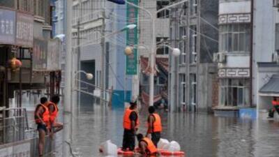 Torrenciales lluvias y deslaves han dejado en China en la ùltima semana...