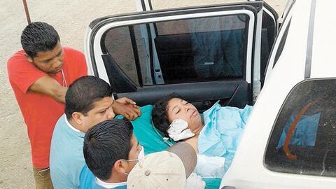 Vilma Trujillo García fue hallada 30 horas en un barranco, atada y desnu...