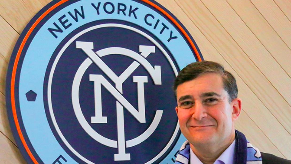 Jon Patricof, nuevo presidente de New York City FC