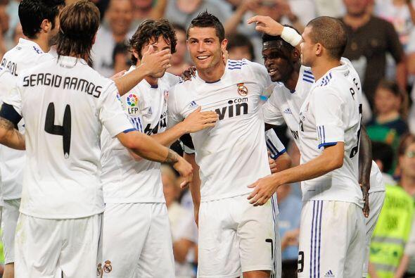 El portugués sólo reafirmó su 'Pichichi' con un par de goles más ante el...