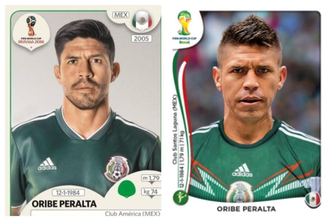 Oribe Peralta - Rusia 2018 / Brasil 2014
