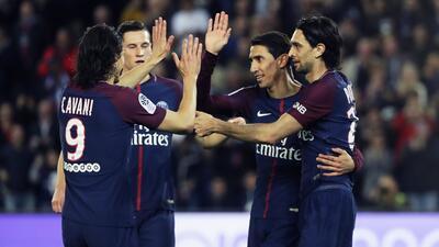 En fotos: PSG se coronó campeón en la Liga de Francia con humillación 7-1 a Mónaco
