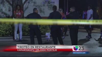 Un hombre baleado en restaurante de Lauderhill