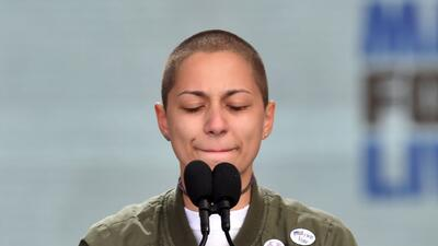 El poderoso silencio de Emma González.