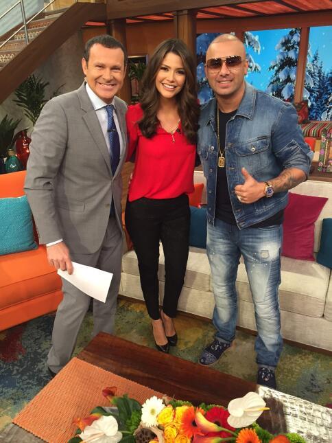 Wisin en Despierta América 2016