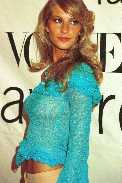 Durante sus primeros años en el mundo de la moda, esta guapa lucía más r...