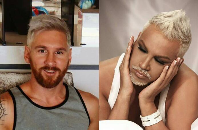 Los memes del nuevo look de Lionel Messi