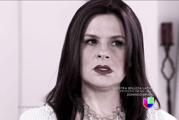 Te aseguramos que Gisela es una mujer malvada y llena de odio.