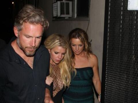 Otra vez Jessica Simpson nos dejó boquiabiertos. Aquí los...