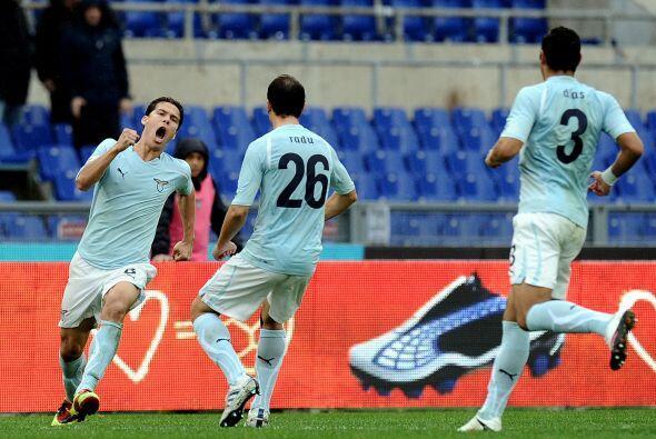Más tarde, el brasileño Hernanes logró el gol de la igualada.