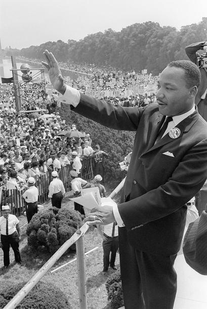 Durante la marcha a Washington en 1963, dónde más de 250 m...