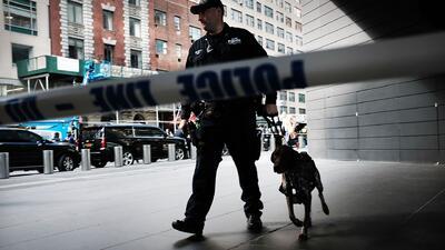 Refuerzan la seguridad en el estado de Nueva York tras la emergencia provocada por paquetes sospechosos