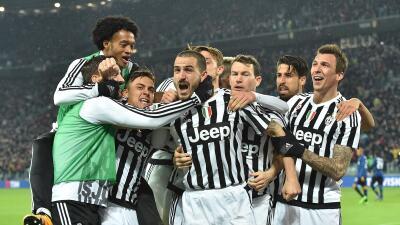 Juventus gana a Inter en el derby italiano