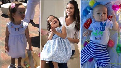Mira cómo han cambiado los bebés de Satcha, Alan, Ana Patricia y Yisus (fotos)