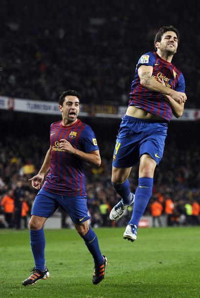 Fábregas está teniendo un torneo destacado y en la Copa del Rey sumaba u...