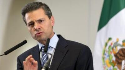 El presidente de México, Enrique Peña Nieto.