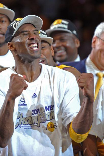 CAMPEONATOS DE LA NBA - Michael Jordan 6 - Kobe Bryant 5