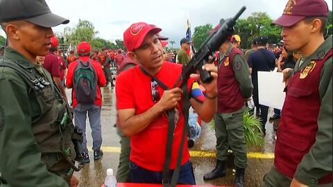 """Los ejercicios militares que Maduro ordenó ante la """"amenaza"""" de Trump"""