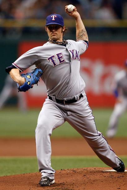 Los Rangers de Texas se colocaron a una victoria de eliminar a los Rays...