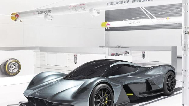 El RB-001 es el nuevo desarrollo de Aston Martin junto a la escudería Re...