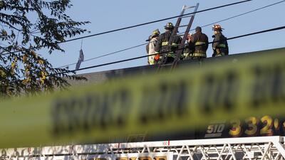 En fotos: Incendio en una fiesta dejó al menos 33 muertos en Oakland