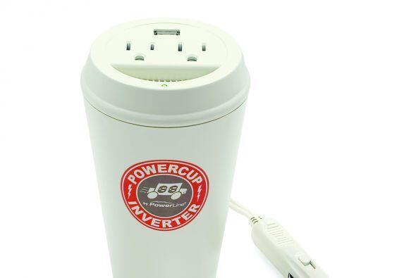 Otro dispositivo innovador y 'fashion' es el Power cup, que por medio de...