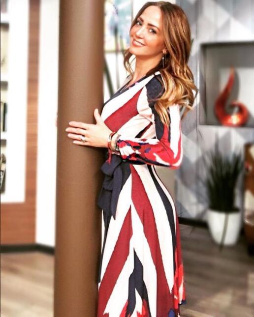 Andrea Legarreta outfit otoño
